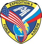 STICKER ISS Expedition   8