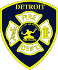 STICKER DETROIT FIRE DEPARTMENT