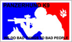 STICKER CIVIL PANZERHUND K9