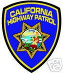 STICKER California Highway Patrol SHIELD