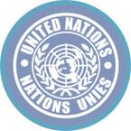 STICKER British SSI - Internaztional - United Nations