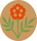 STICKER British SSI - Great Britain - 55th West Lancashire Division