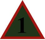 STICKER British SSI - 1st Mechanised Brigade