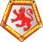 STICKER British Ship Badge - Great Britain - HMS Devonshire