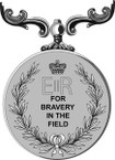 STICKER British Medal - Great Britain - Military Medal