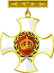 STICKER British Medal - Great Britain - Distinguished Service Order