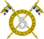 STICKER British DUI - 5th Royal Irish Lancers