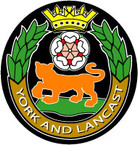 STICKER British Crest - Yorks and Lancashire Regiment