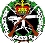 STICKER British Crest - Small-Arms School 1