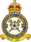 STICKER British Crest - RAF - 609 Squadron