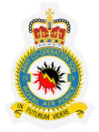 STICKER British Crest - 4th RAF Army Cooperation Squadron