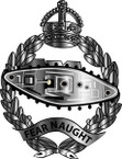 STICKER British Collar Badge - Royal Tank Regiment