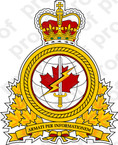 Canadian Department of National Defense Badge of ADM IMG Sticker