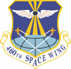USAF 460th Space Wing STICKER