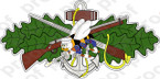 STICKER USN COMBAT SEABEE BADGE COLOR