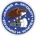 STICKER NASA GEMINI 4 PROGRAM
