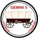 STICKER NASA GEMINI 5 PROGRAM