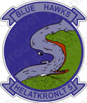 STICKER USN HAL 5 Blue Hawks