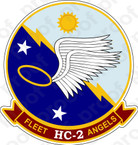 STICKER USN HC 2 Fleet Angels