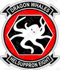 STICKER USN HC 8 Dragon Whales