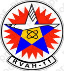 STICKER USN RVAH 11 Checkertails