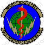 STICKER USAF 439th AEROSPACE MEDICINE A