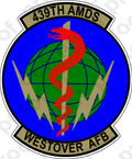 STICKER USAF 439th AEROSPACE MEDICINE B