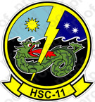 STICKER USN HSC 11 Dragonslayers