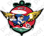 STICKER USN HU 1 Retrievers
