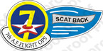 STICKER USAF 7TH AF FLIGHT OPS