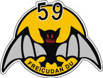 STICKER USAF 59th FIGHTER INTERCEPTOR SQUADRON