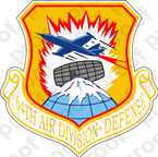 STICKER USAF 64TH AIR DIVISION