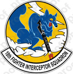 STICKER USAF 18TH FIGHTER INTERCEPTOR SQUADRON