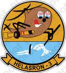 STICKER USN HS 3 HELASRON