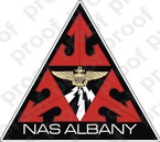 STICKER USN NAS ALBANY