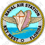 STICKER USN NAS KEY WEST