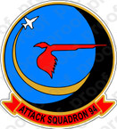 STICKER USN VA  94 Mighty Shrike 1965