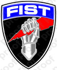 STICKER FIST FIRE SUPPORT TEAM