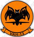 STICKER USN VAH 13 BATS