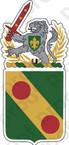 STICKER US ARMY 793RD POLICE BATTALION MP COA