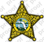 STICKER SHERIFF PINELLAS COUNTY