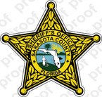 STICKER SHERIFF SARASOTA COUNTY