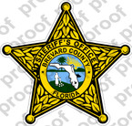 STICKER SHERIFF BREVARD COUNTY