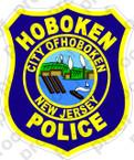 STICKER CIVIL HOBOKEN POLICE NEW