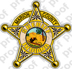 STICKER CIVIL MARION COUNTY SHERIFF