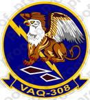 STICKER USN VAQ 308 GRIFFINS