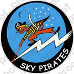 STICKER USN VBF 85 SKY PIRATES