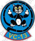 STICKER USN VC 13 FOOLS IN GODS OCEAN