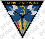 STICKER USN CARRIER AIR WING CVW 3