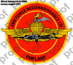 STICKER 2nd Force Reconnaissance Co